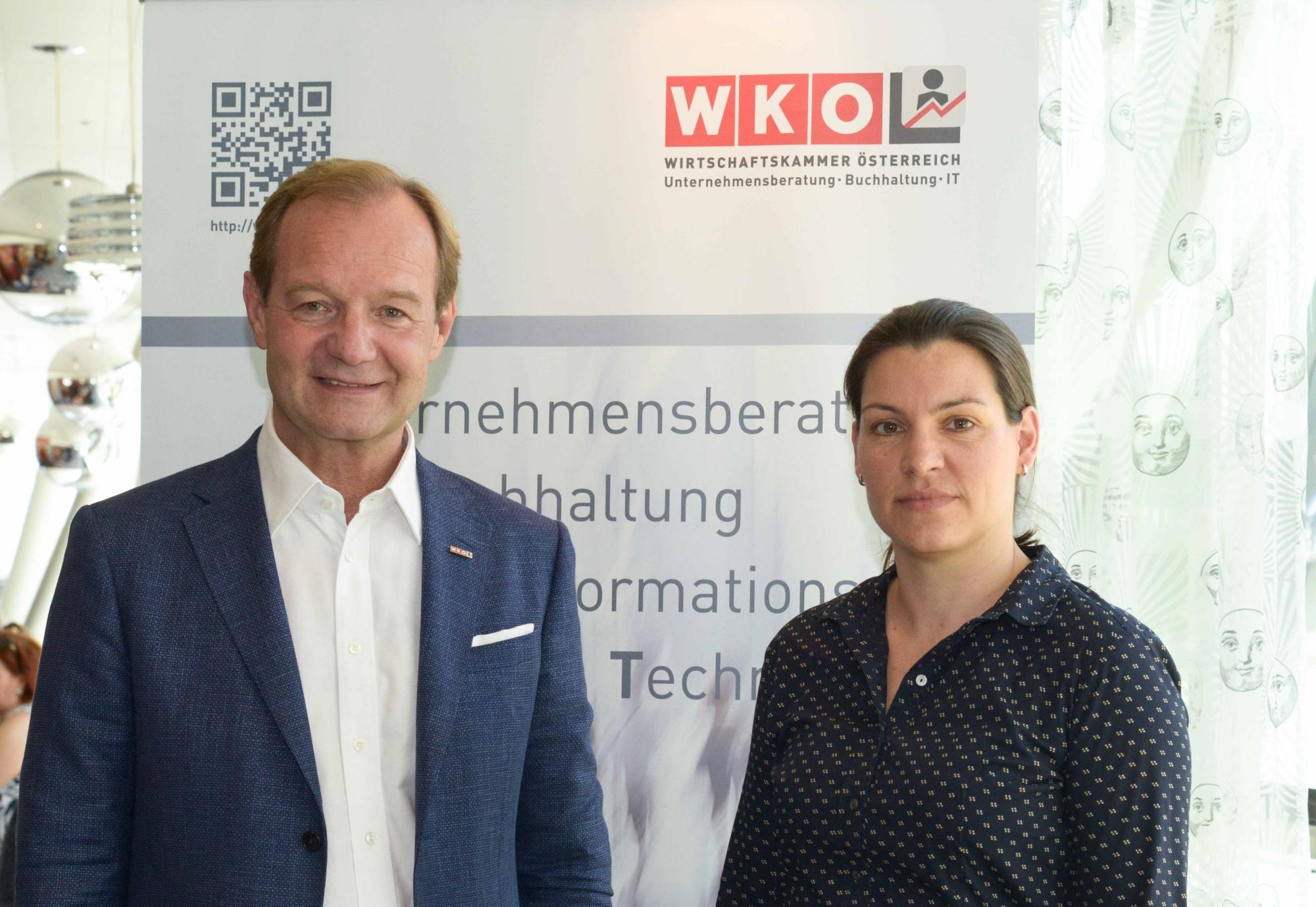 UBIT Radar 2018 - Pressegespräch 21.06.2018 - Fachverband UBIT der WKO und KMU Forschung Austria. Fotocredit: FV UBIT / Tsitsos.