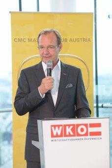 Alfred Harl, Obmann FV UBIT - International Consultants Day 2018 in Austria.