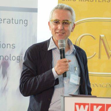 Ezio Lattanzio, FEACO-Vorsitzender - International Consultants Day 2018 in Austria. Fotocredit: FV UBIT/Tsitsos.