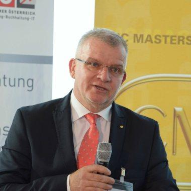Sorin Caian, ICMCI-Vorsitzender - International Consultants Day 2018 in Austria. Fotocredit: FV UBIT / Tsitsos