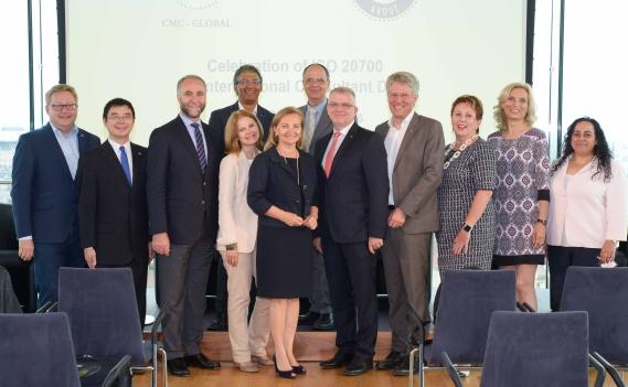 ISO 20700 1 Year Celebration & International Consultants Day 2018 in Austria. Fotocredit: FV UBIT/Tsitsos.