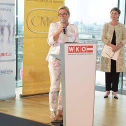 Christa Kranzl (ehemalige Staatssekretärin, Certified Supervisory Expert) - International Consultants Day 2018 in Austria. Fotocredit: FV UBIT/Tsitsos.