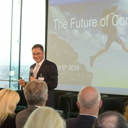 "Karim Taga (Arthur D. Little) - Keynote ""The Future of Consulting"" - International Consultants Day 2018 in Austria."